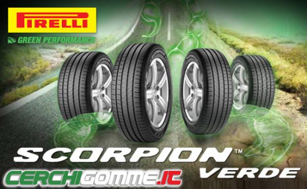 Pirelli Scorpion Verde: il modello ecologico per SUV e 4X4