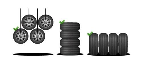 CERCHIGOMME.IT vi consiglia come conservare al meglio i pneumatici invernali