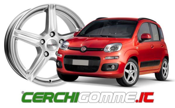 Cerchi e gomme per Fiat Panda: l'offerta di Cerchigomme.it