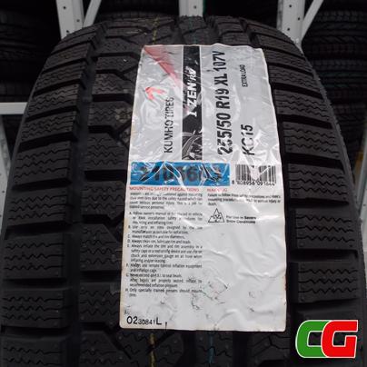 Per l'inverno scegli gli pneumatici Kumho Kc 15