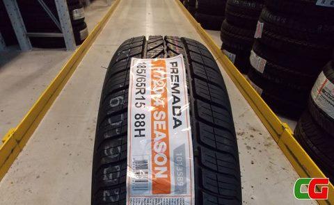 H720: i nuovi pneumatici 4 Season di Premada