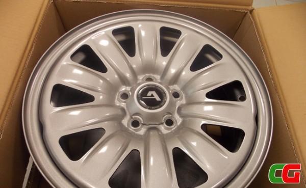 Cerchi in ferro Alcar Hybridrad: la ruota in acciaio col design dei cerchi in lega