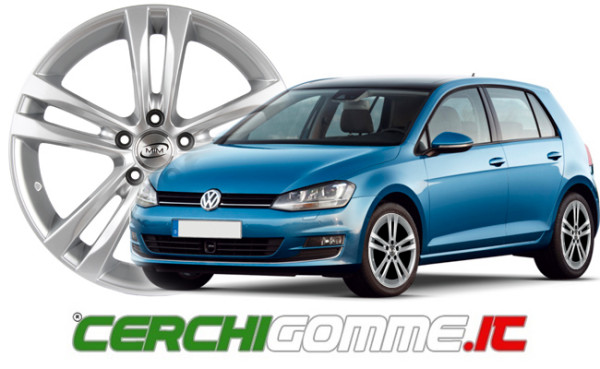 Cerchi e gomme per Volkswagen Golf 7: l'offerta di Cerchigomme.it