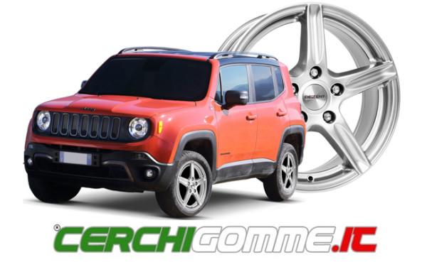 Gomme e cerchi per Jeep Renegade: il SUV compatto made in Italy