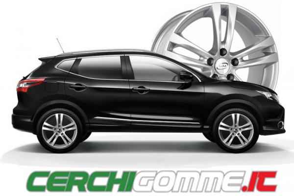 L' offerta Nissan Qashqai di Cerchigomme.it da 17 pollici: da non perdere!