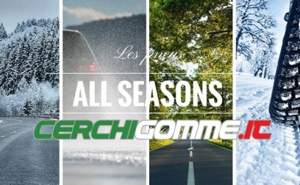 Pneumatici quattro stagioni: il giusto compromesso estate/inverno