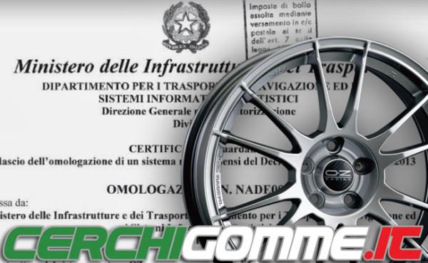 Cerchi in lega omologati: dal 1 ottobre 2015 entra in vigore il Decreto 20