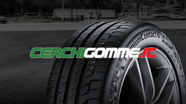 Gomme estive Continental Premium Contact 6: le performance